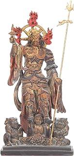 【東寺監修 公認】多聞天(たもんてん) ミニチュア仏像【空海 立体曼荼羅21体 真言宗開宗1200年記念】