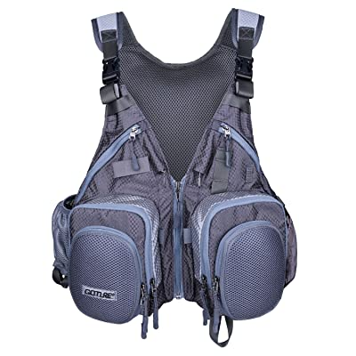 Goture Fly Fishing Vest Multifunction Adjustabl...
