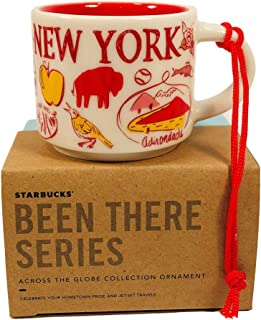 Starbucks New York Been There Collection Ceramic Coffee Demitasse Ornament 2 Oz