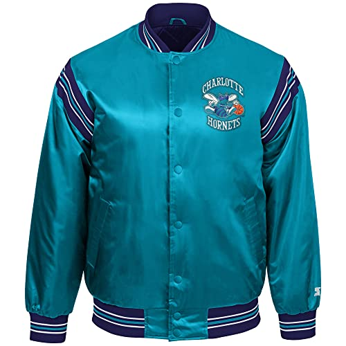 47680515467 STARTER NBA Youth Boys The Enforcer Retro Satin Jacket
