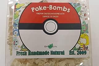 Spa Pure POKEMON Bath Bomb - For Kids - Surprise Toys Inside (POKEMON) USA made, Natural, Organic XL 5 oz Gift For Girls/Boys
