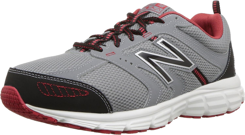 New Balance Men's 430v1 430v1 430v1 Running schuhe, Steel Team rot, 14 4E US 071