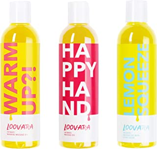 Loovara Värdepaket massage i flaskor, massageolja i ett billigt 3-delat set – närande olja i ett paket | närande och natur...