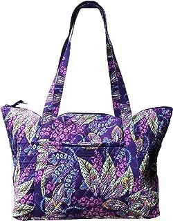 Carry-On Travel Tote, Batik Leaves