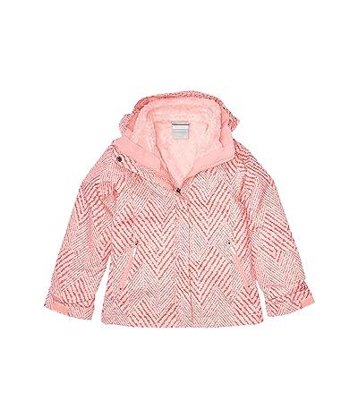 Columbia Kids Bugabootm II Fleece Interchange Jacket (Little Kids/Big Kids) (Pink Orchid Chevron Print) Girl