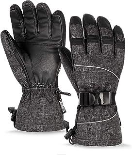 Unigear Guantes De Esquí Impermeable Calientes Nieve
