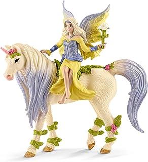 Schleich Fairy Sera with Blossom Unicorn Toy Figure