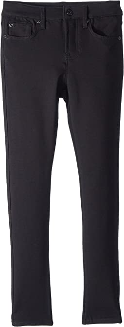 7 For All Mankind Kids - The Skinny Jeans in Black (Big Kids)