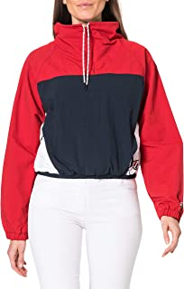 Superdry OVERHEAD CROPPED CAGOULE dames Overhead cropped cagoulle