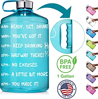 Best water bottle with time markings uk Reviews