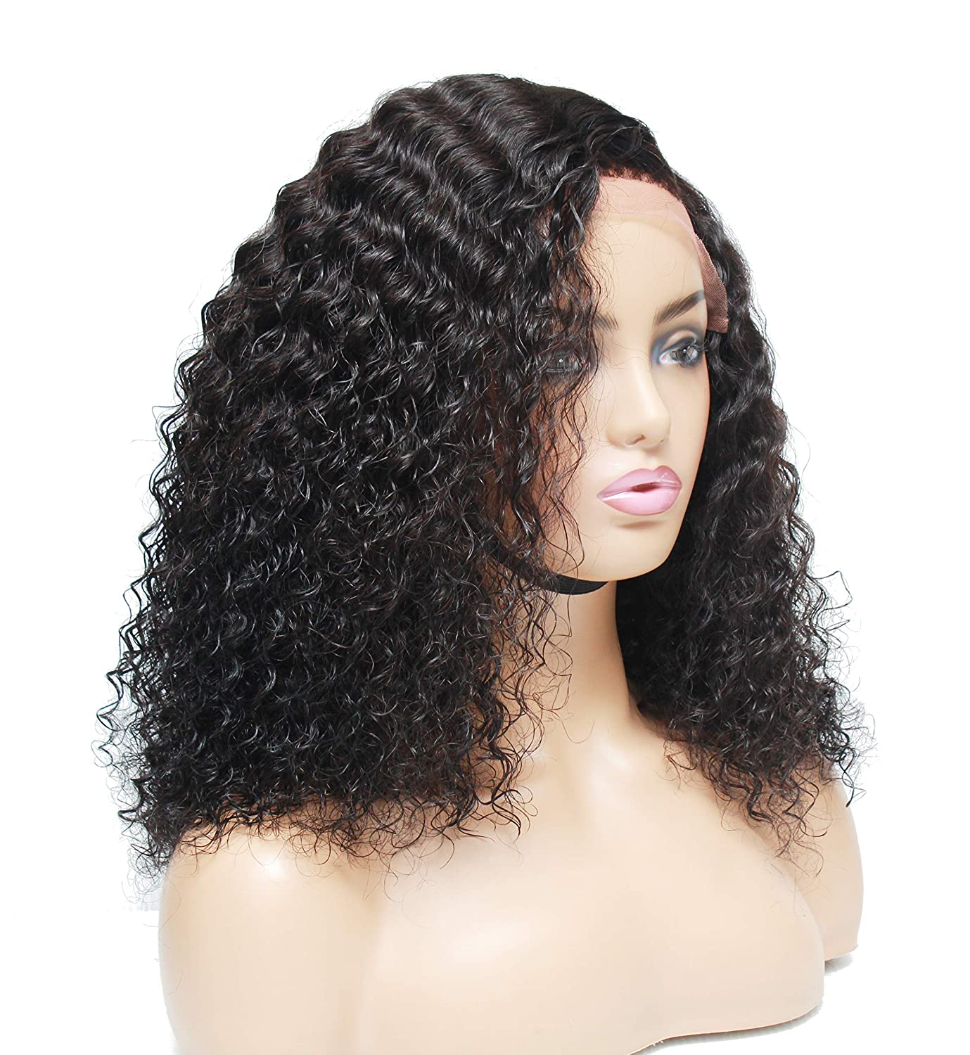 Brazilian human hair wig- Lace online shopping Curly front Max 83% OFF