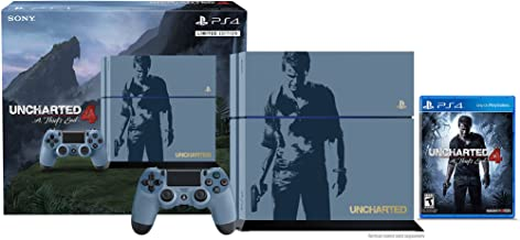 PlayStation 4 500GB Console - Uncharted 4 Limited Edition Bundle [Discontinued]