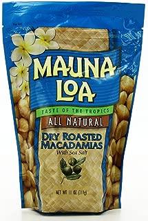 Hawaiian Lunch Bag Gift Basket Mauna Loa Dry Roasted Macadamia Nuts & Sea Salt 4 Bags #6