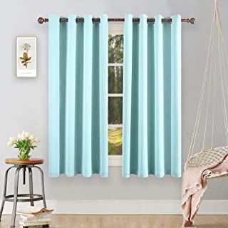 Best aqua and white curtains Reviews