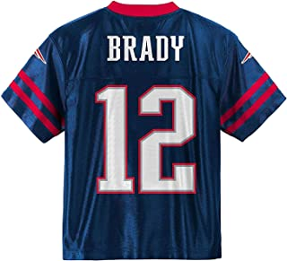 Tom Brady New England Patriots #12 Navy Blue Youth Home Player Jersey