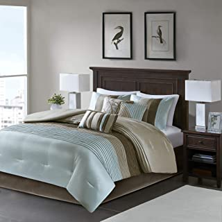 Madison Park Tradewinds Comforter Set Queen Blue