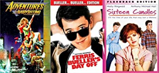 Sixteen Candles & Ferris Bueller's Day Off... + Adventures in BabysittingFun Comedy 80's High School Teen movie Set