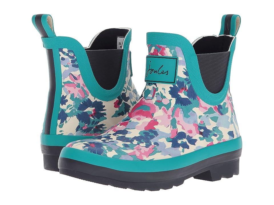 Joules Kids Wellibob Chelsea Boot (Toddler/Little Kid/Big Kid) (Cream Garden Ditsy) Girls Shoes
