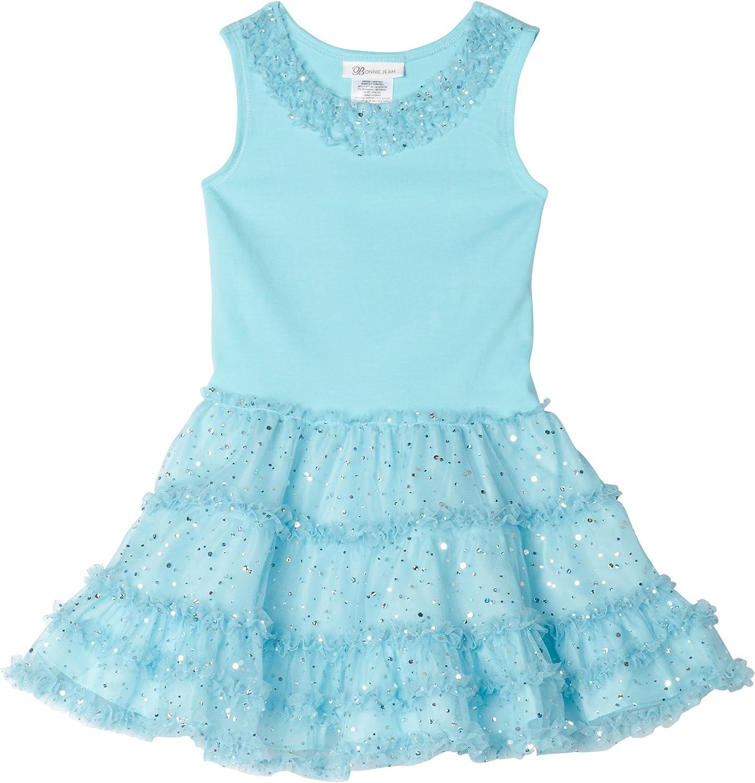 Bonnie Jean Little Girls' Glitter Mesh Dress