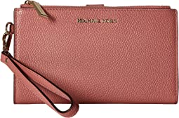 8a1a02cc4eda MICHAEL Michael Kors. Double Zip Wristlet.  88.50MSRP   118.00. 4Rated 4  stars. Rose