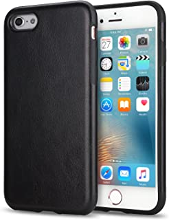 iPhone 6s Case, Tendlin Premium Leather Back Flexible TPU Silicone Hybrid Soft Slim Cover Case for iPhone 6 and iPhone 6s...