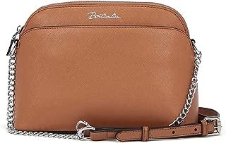 BOSTANTEN Women Leather Handbags Small Crossbody Purses Chain Shoulder Purses and Handbags