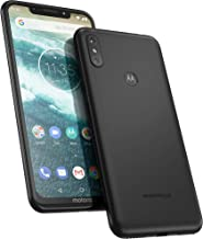 Motorola One 64 GB 5.9 Inch Android One Android 8.1 UK Sim-Free Smartphone with 4 GB RAM and 64 GB Storage (Dual Sim), Ceramic Black