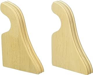 wood drapery rod brackets