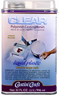 Clear Casting Resin With Catalyst 32 Ounce