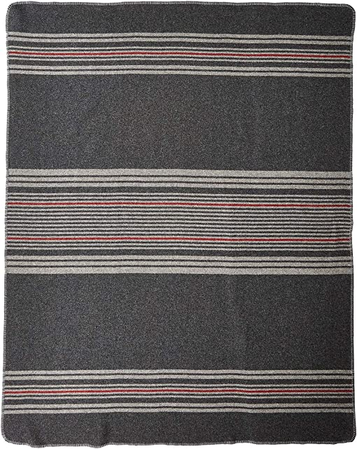 Irving Stripe/Charcoal