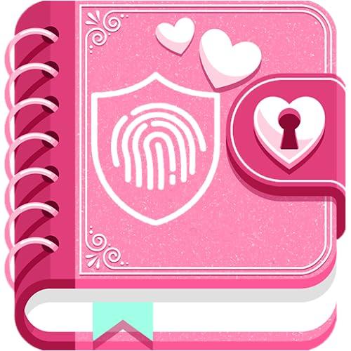 secret diary with fingerprint lock for girls
