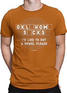 Oklahoma Haters Buy a Vowel T-Shirt for Fans in Texas