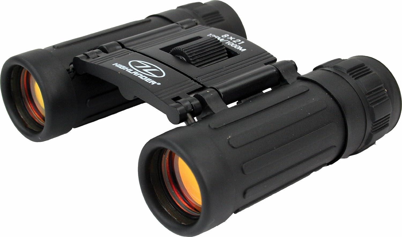 Highlander Outdoor 8X 21mm Lakeland Binocular, Black