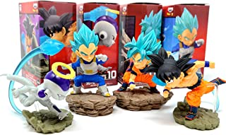 World Collectible Diorama WCF Prize Figure Collection Vol.3 Dragon Ball Super 4 pcs Set