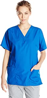 Women's V Neck Scrubs Shirt