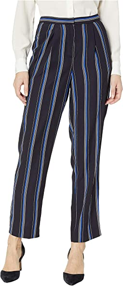 Georgette Striped Pants