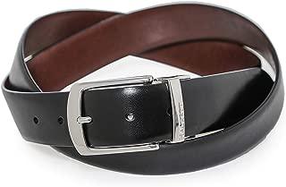 Hackett Men's Reversible Smooth Leather Belt Multi Coloured