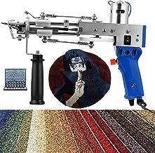 InLoveArts Elektrisch Tapijt Tufting Gun Rug Tufting Gun Tapijtweefmachine 7-12 mm, Home DIY Tools voor High-Speed Weven v...