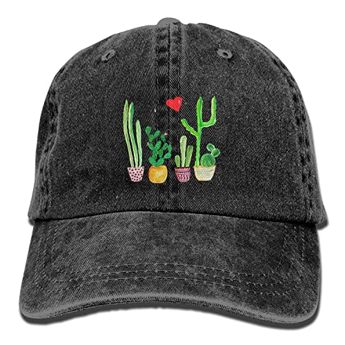 bdd05e9f36d Cacti Cactus Love Artical Unisex Adult Adjustable Leisure Dad Cap