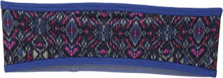 prAna Women's Kenmont Headband Cold Weather Hats, One Size, Sapphire Flores