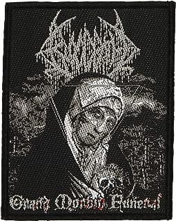 Bloodbath Men's Grand Morbid Funeral Woven Patch Black