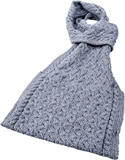 Ladies - 100% Merino Wool - Pull Through Scarf with Pouch Pocket