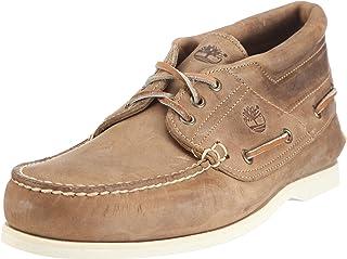 Timberland Half Cab Boat LT Brown 1020R - Zapatos de Cuero para Hombre