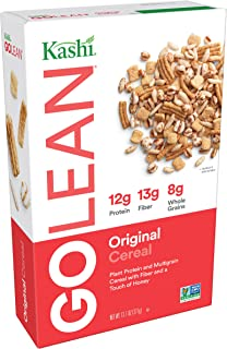 Kashi GO Original Breakfast Cereal - Non-GMO Project Verified, Vegetarian, Bulk Size - 13.1 Oz Box (Pack of 6 Boxes)