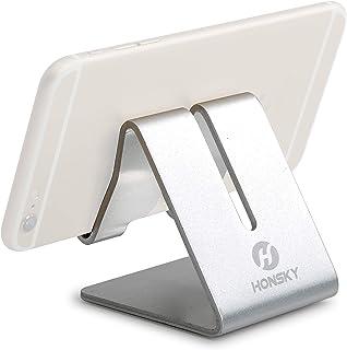 Honsky Solid Portable Universal Aluminum Desktop Desk Stand Hands-Free Mobile Smart Cell Phone Holder Tablet Display Stan...