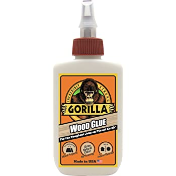 Gorilla Wood Glue, 4 Ounce Bottle, (Pack of 1)