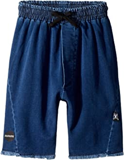 Nununu - Denim Cut Shorts (Little Kids/Big Kids)