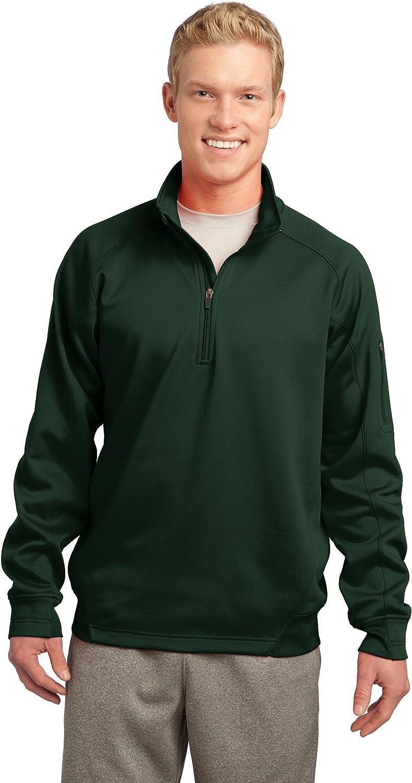 SPORT-TEK Men's Tall Tech Fleece 1/4 Zip Pullover
