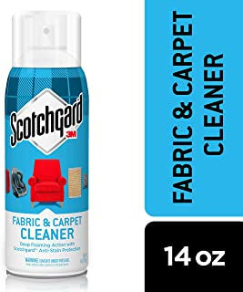 Scotchgard Fabric & Carpet Cleaner, Deep Foaming Action with Scotchgard Anti-Stain Protection, 14 Ounces