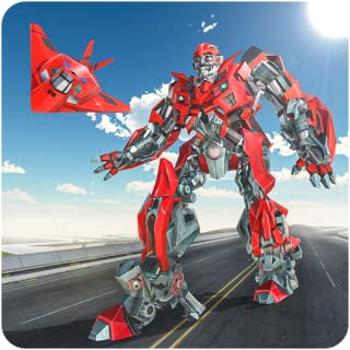 Future Airplane Robot Transformation Wars